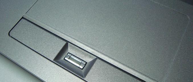 Touchpad e Fingerprint - Titanium G1511