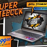 Avell Titanium G1511 NEW