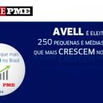 Avell é eleita uma das 250 pequenas e médias empresas que mais crescem no Brasil