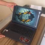 Unboxing Avell B155 MAX GTX850M 2GB