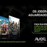 [ENCERRADA] Avell e NVIDIA: Compre e Ganhe Lançamentos da Ubisoft