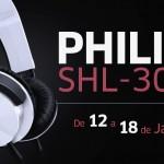 [Encerrado] Cupom de Desconto – Headphone Philips SHL3000