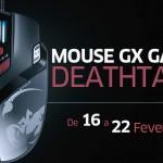 [Encerrado] Cupom de Desconto – Mouse Gx Gaming Deathtaker