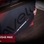 Unboxing Avell Titanium G1545 MAX