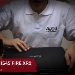 Unboxing Notebook Avell Titanium G1545 FIRE XR2