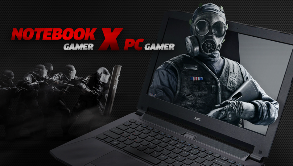 Notebook gamer ou PC gamer qual eu devo escolher