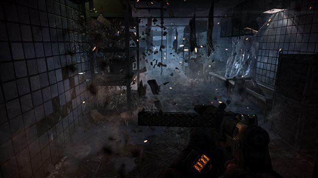 O PhysX calcula cada um dos parâmetros de uma explosão em um jogo, por exemplo