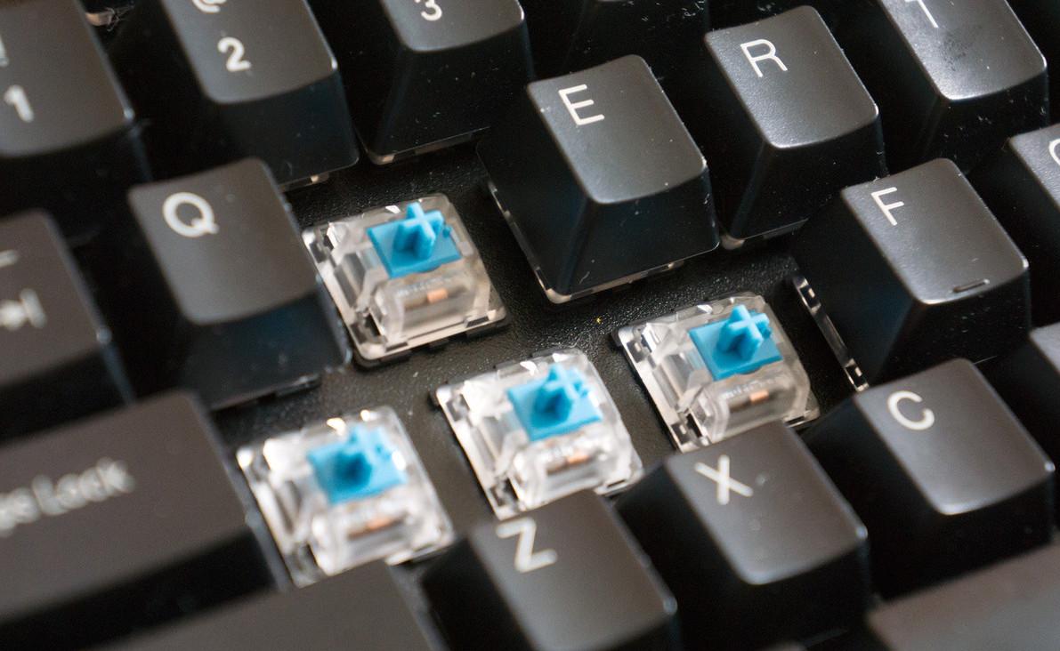 teclados mecânicos teclas