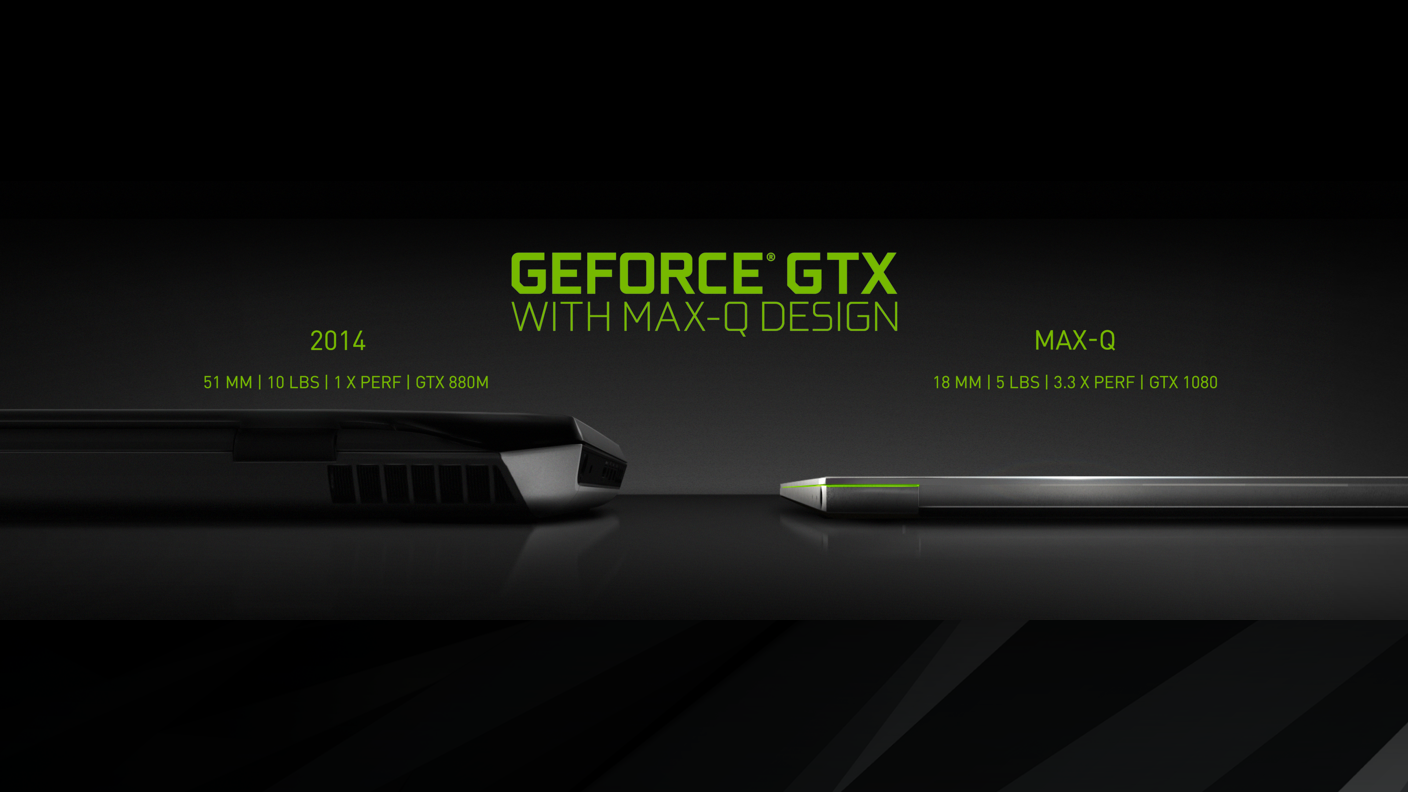 NVIDIA Max-Q notebook gamer