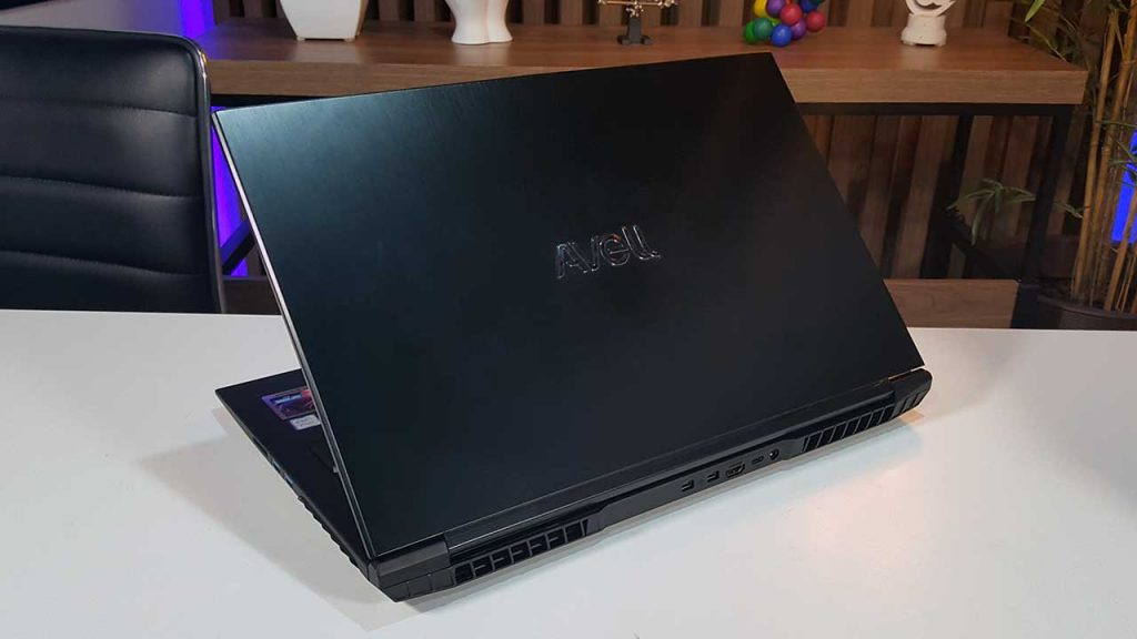 review avell G1750 fox 9